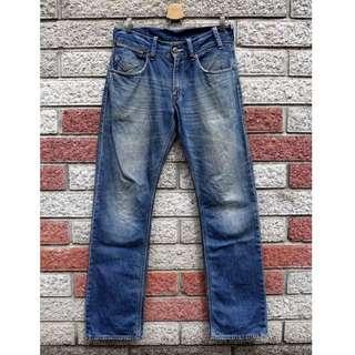 🚚 Levis 523 二手牛仔褲- 正品 -(levis SQ523-0129)-W32 L34