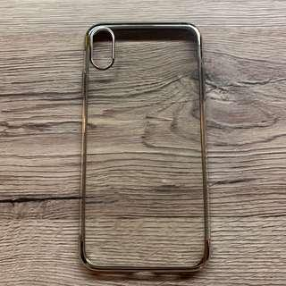 iPhone XS MAX Clear Rubber Case