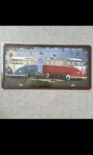 🚚 Sale 🌟BN Kombi Volkswagen Tin Sign 15x30cm