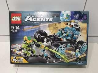Lego 70169 Ultra Agents Agent Stealth Patrol - Brand New MISB Crease