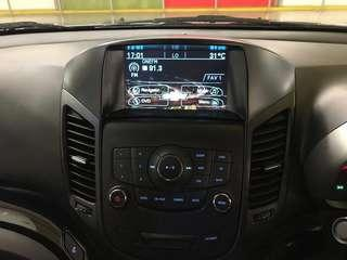 Chevrolet Orlando Multimedia, Navigation & reverse camera