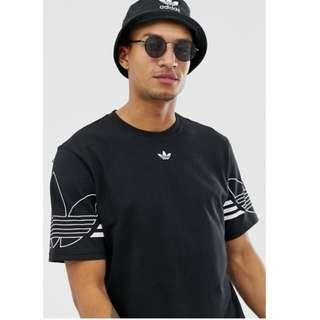(Pre-Order) Adidas Originals T-Shirt Outline Trefoil