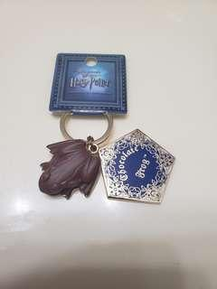 Harry Potter 青蛙朱古力 key chain
