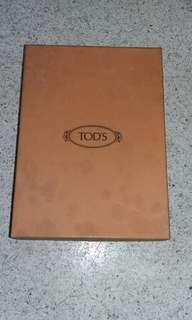 Tod's shoe box