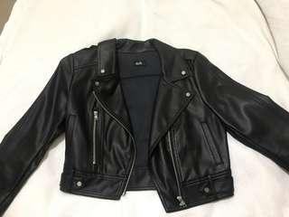 DOTTI Leather Jacket