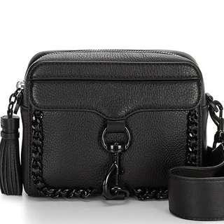 Rebecca Minkoff Woven Chain Camera Crossbody Bag