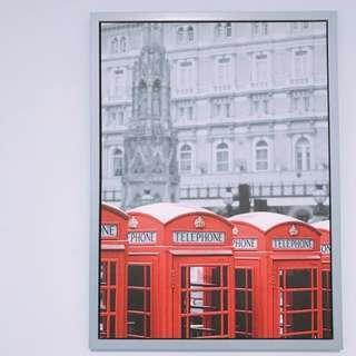 london photo frame