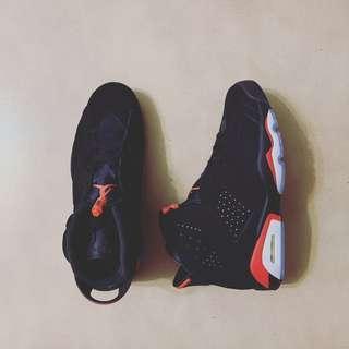 size 40 81fec 5c138 Nike Air Jordan 6 Black Infrared 2019 現貨