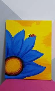 Sun Flower Paint