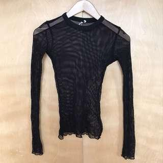 Urban Outfitters Mesh Top