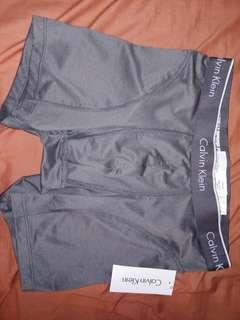 Calvin Klein underwear NWT gray size S boxer briefs