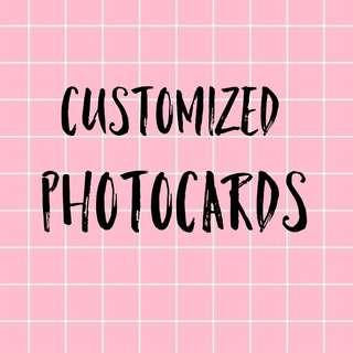 🍃 cheap customized photocards 🍃