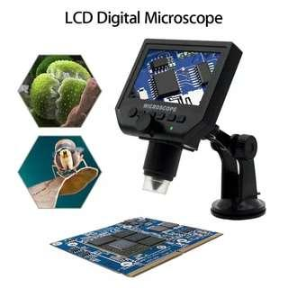 """-40%  Portable LCD Digital Microscope 3.6MP 4.3"""" HD OLED Continuous Magnifier - intl"""
