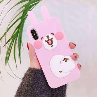 Rabbit silicon phone case