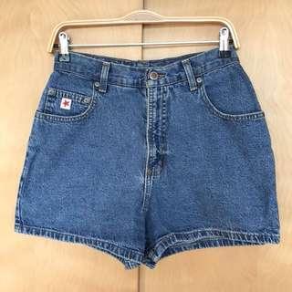 Vintage Straight Leg Shorts