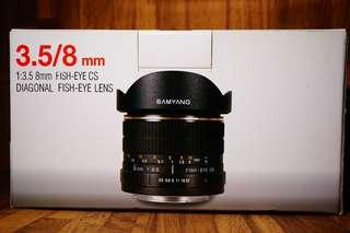 SAMYANG 8mm Fisheye for Canon