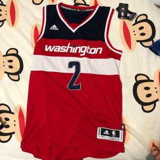 Adidas NBA 波衫 / 球衣 Swingman Wizards John Wall (size S)