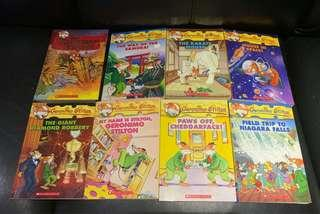 🚚 Geronimo Stilton Books - 8 Books Set