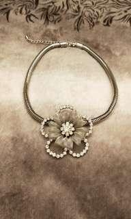 花朵造型項鏈