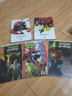 Spawn Comics Set