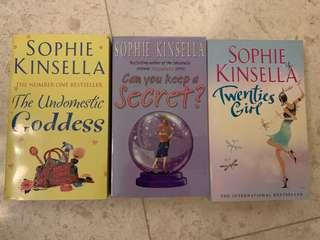 🚚 Books by Sophie Kinsella