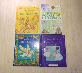 Usborne Series: Set of 4 Books