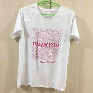 COTTON ON THANK YOU SHIRT
