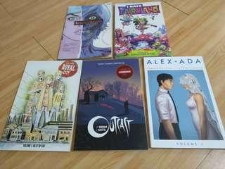Comics Volume 1s: P500 each