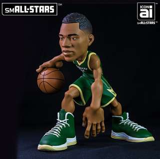 e8b92039ee1 Legit Brand New With Box Sealed IconAI NBA smALL-STARS Series 2 Giannis  Antetokounmpo Milwaukee