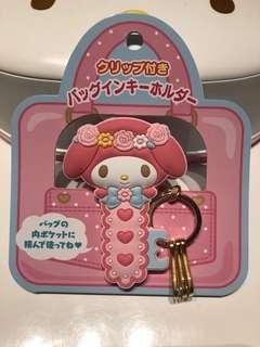 My Melody Clip Key Holder