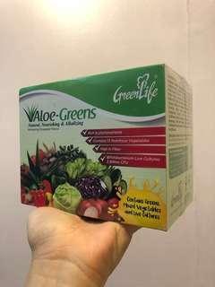Greenlife Aloe-Greens (15 sachets)