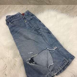 Old Skool Jean Shorts