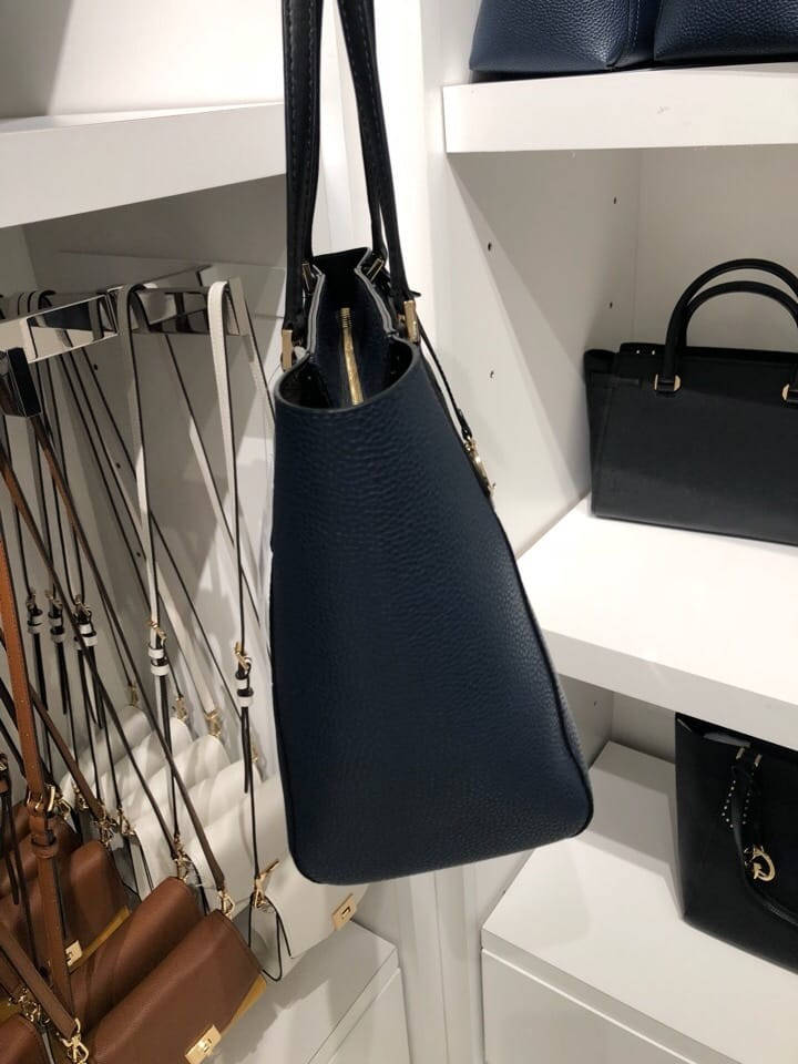 4f94ce1c3de3 230 P.O.SALE! Michael Kors Kimberly Small Bonded Leather Tote Bag ...