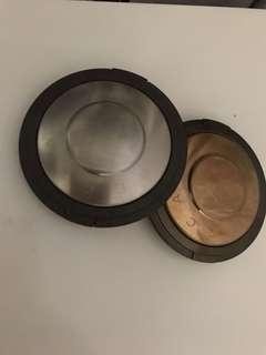 Becca bronzer and highlighter