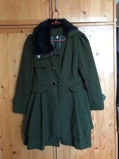 女裝軍綠色外套