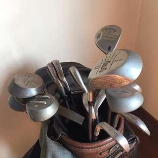 Golf set for men (free bag and green)