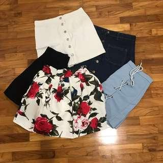 $7 skirts CLEARANCE