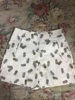 Zara basic printed shorts