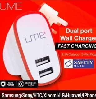 🚚 Usb Charger Head 2 in 1