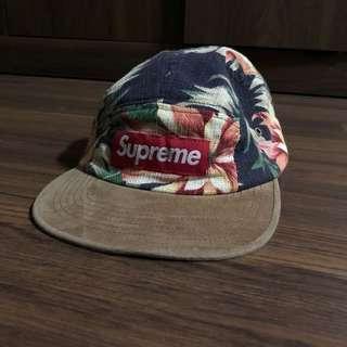 b68dee71c45 Supreme Black Floral Camp Cap