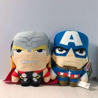 Marvel 美國隊長 雷神 鋼鐵人 黑豹