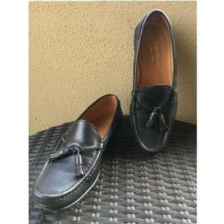 Ralph Lauren Black Tassel Loafer