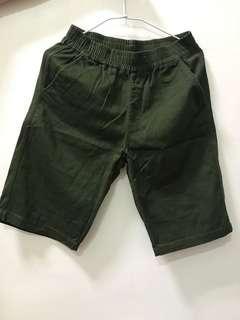 🚚 JKS SHOP軍綠率性短褲