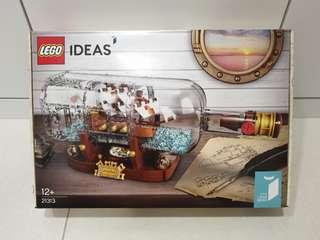 Lego 21313 Ship in a bottle brand new