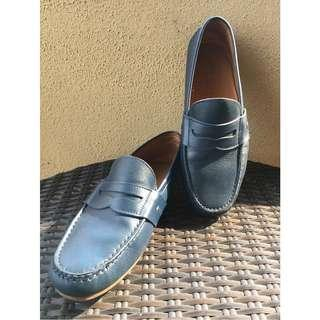 Ralph Lauren Blue Driving Loafer