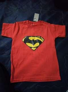 Kaos anak superman merah