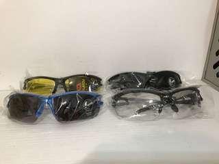 road bike  sunglasses