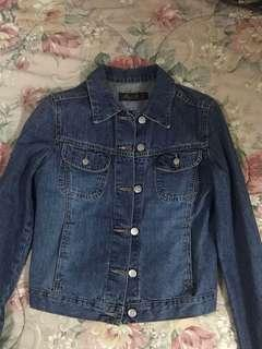 Mango Jeans Pure cotton jacket
