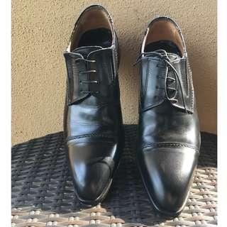 Black Laced Oxfords