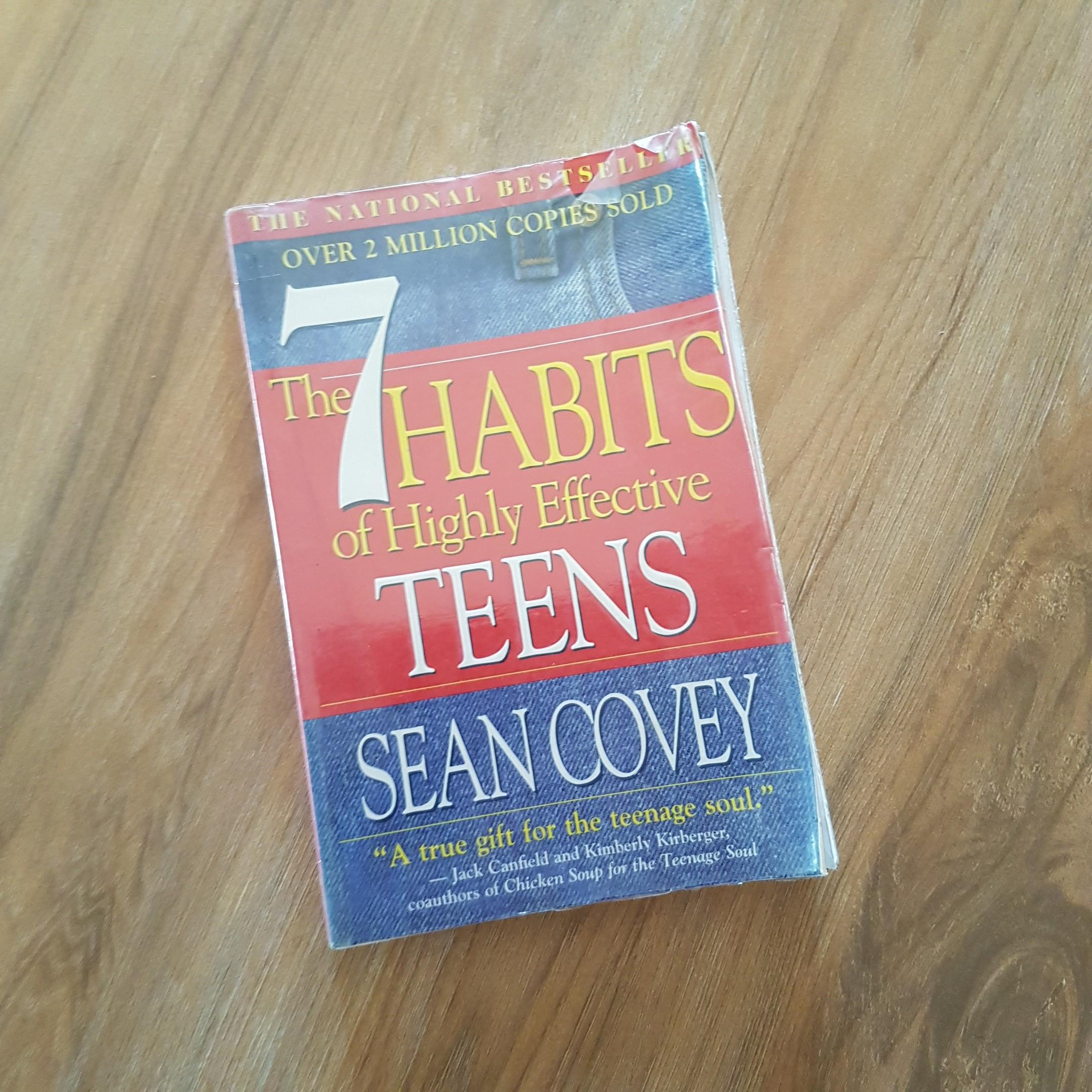 7 Habits of Highly Effective Teens by Sean Covey (book)